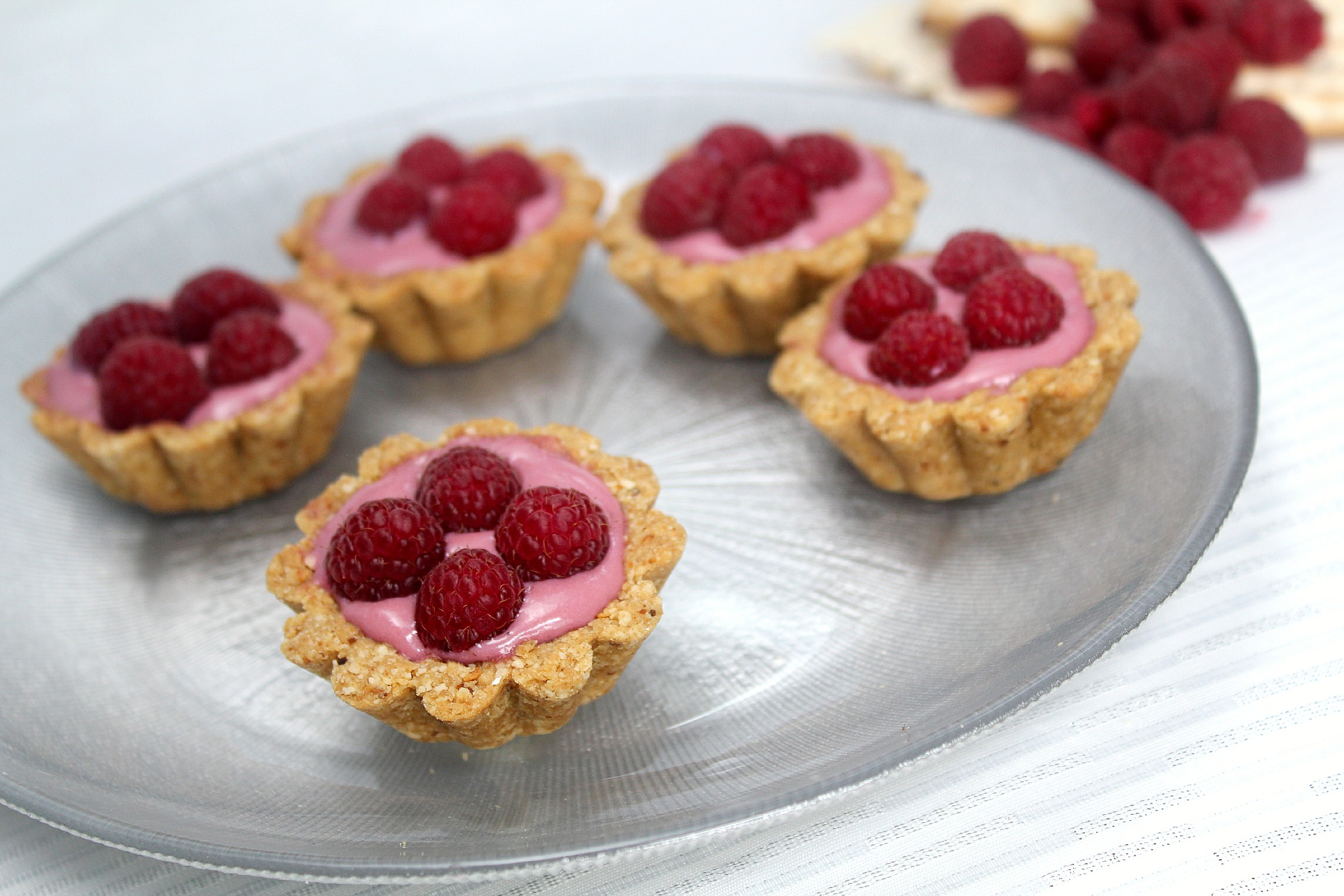 raspberry custard pie crustless raspberry custard raspberry custard ...
