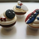 bowling cupcakes