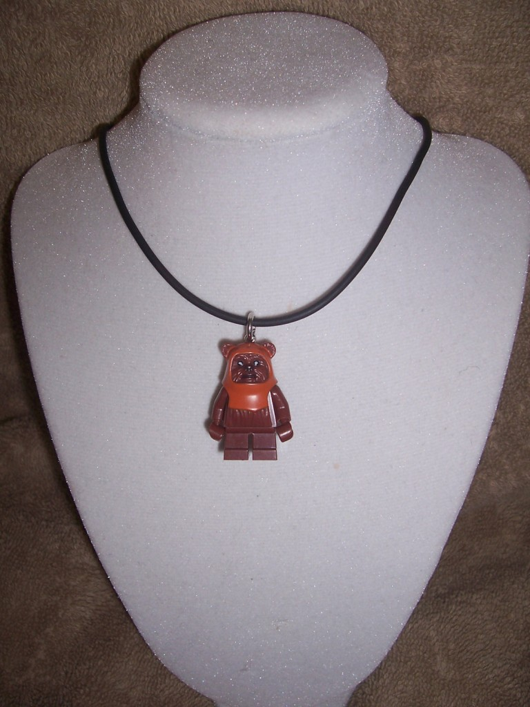 Ewok LEGO necklace