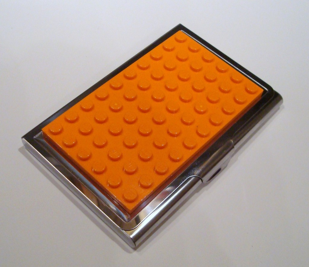 LEGO business card case