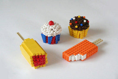Simple Lego Cake Ideas