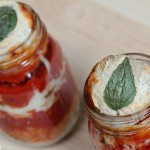 Pizza in a jar warm crust