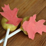 leaf cake pop