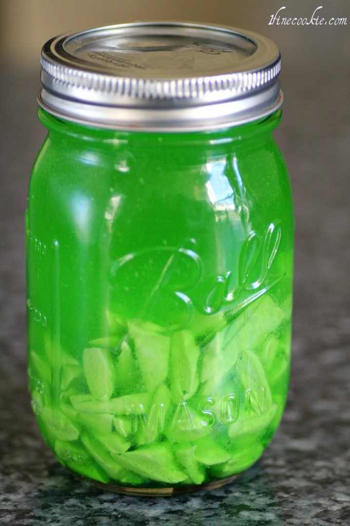 green apple infused Laffy Taffy vodka