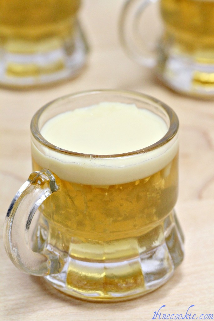 Guinness Jello shot beer jello shot