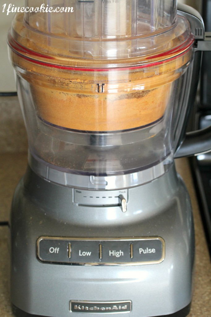 Use a food processor to grind spices