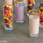 Reese's pieces, reese's, reese's pieces shots, reese's shots, reese's infused vodka, reese's infused liquor, peanut butter, infused liquor, shots, halloween, thanksgiving, cocktails, skulls, drink, diy, candy shots, candy, shot recipes, halloween shots, thanksgiving drink, orange, yellow, brown, skulls, skull shot glasses, autumn, skull shots, thanksgiving shots, peanut butter shots,