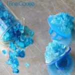 Breaking Bad Rock Candy Bling Rings by 1 Fine Cookie, Breaking Bad, scientist, rock candy, how to make, diy, ring, jewelry, pop, blue, rainbow, colorful, party, theme, ideas, meth, walt, jessie, candy, recipe, food, dessert, cute, party, theme, wearable, diy, food, craft, boil sugar, hard crack