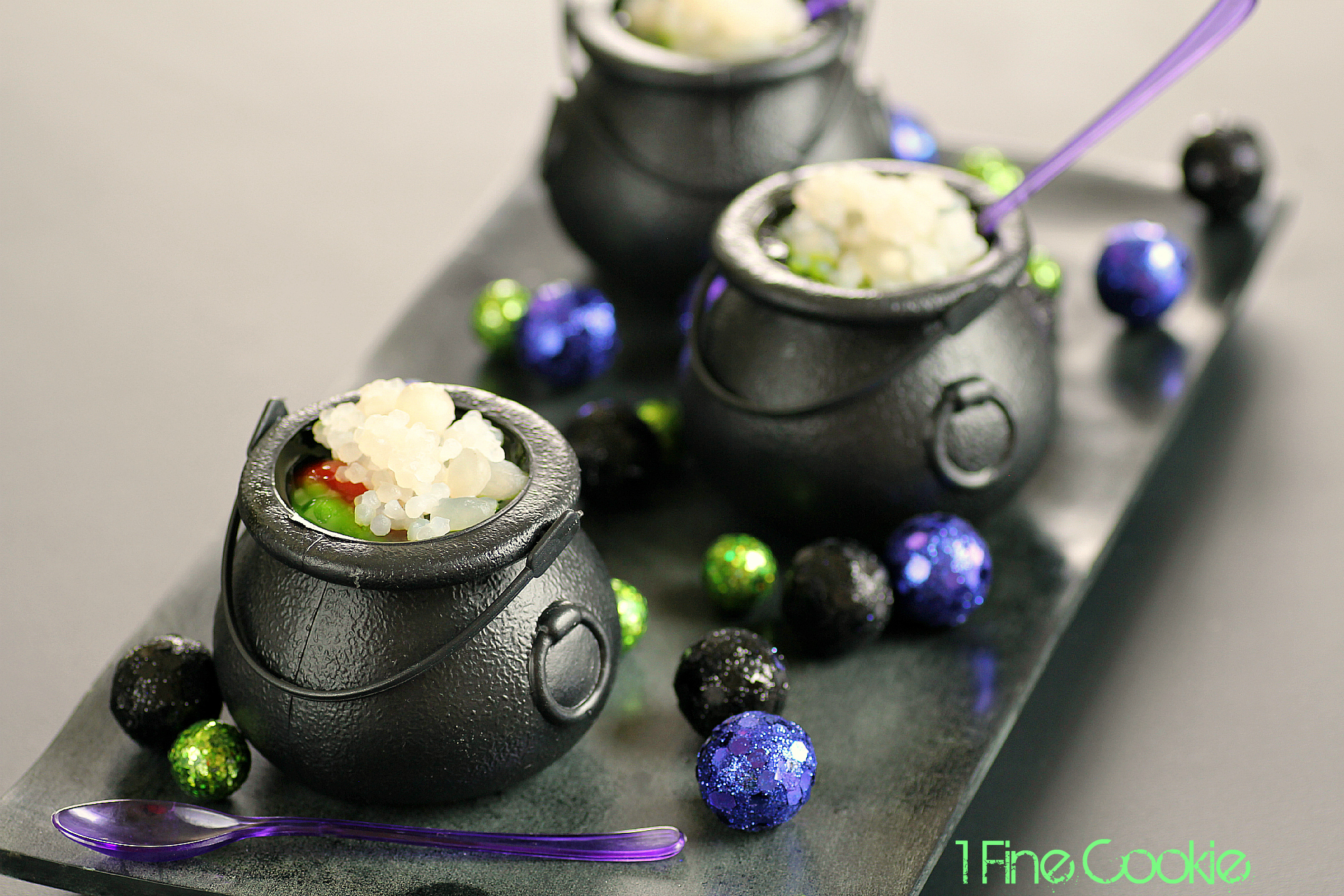 Halloween Witch's Brew Jello Shots Dessert Recipe - 1 Fine Cookie