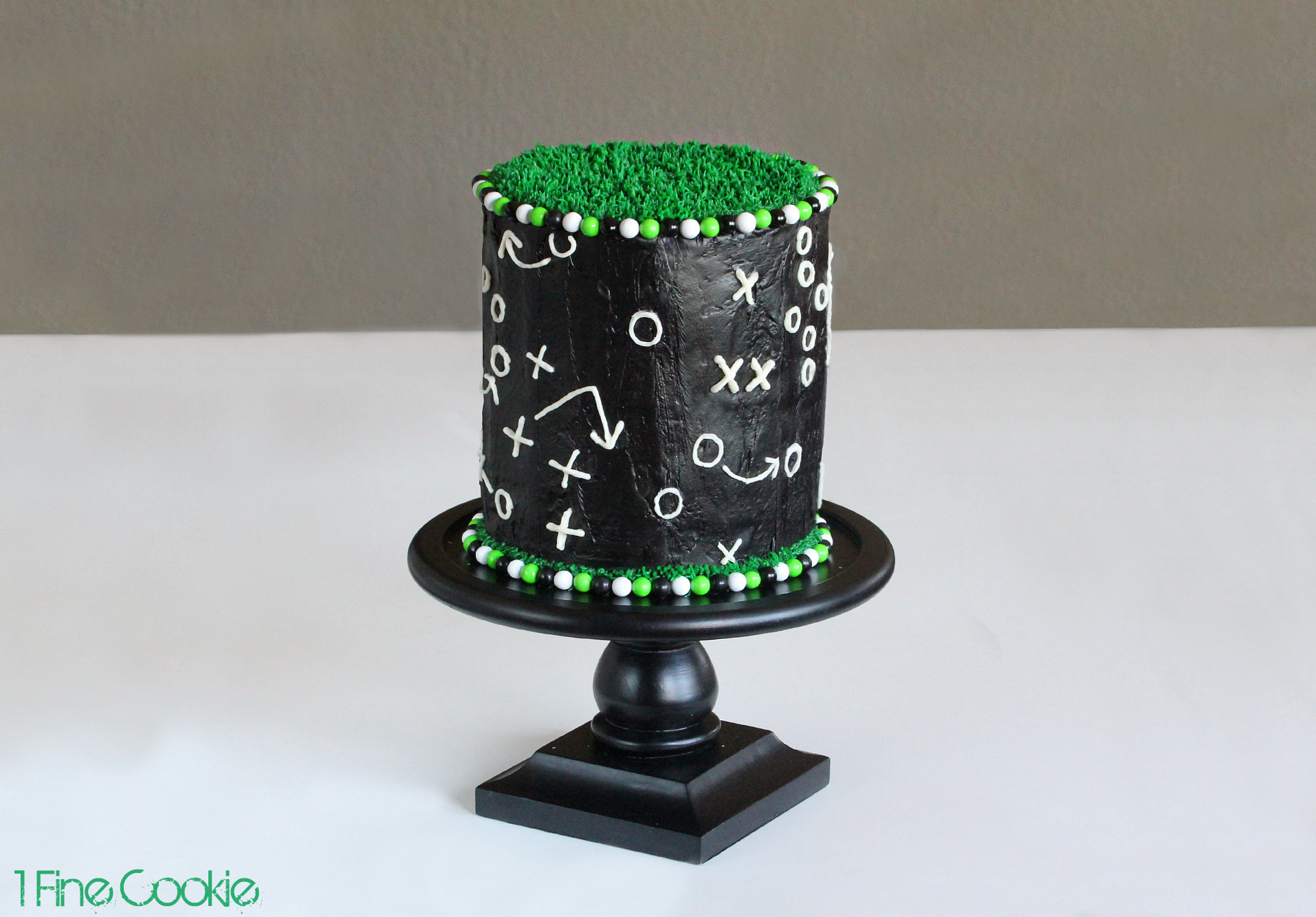 Football Plays Beginners Game Play Football Cake by 1