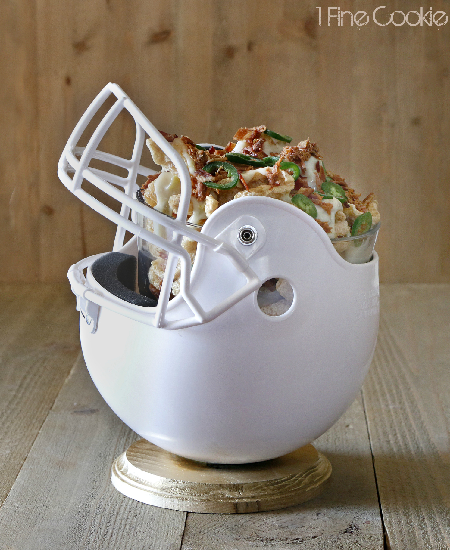 Ice Bowl Football Football Helmet Snack Bowl