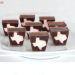 Texas Dr. Pepper and Whiskey Jello Shots font, Texas, Dr. Pepper, Whiskey, Jello Shots, shape, state, white, jelly, shots, shooters, country, south, cute, party, cherry, soda, how to, diy, ratio,